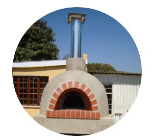 Wood Burning Pizza Oven Braai Areas Roofing And Renovation Italoven