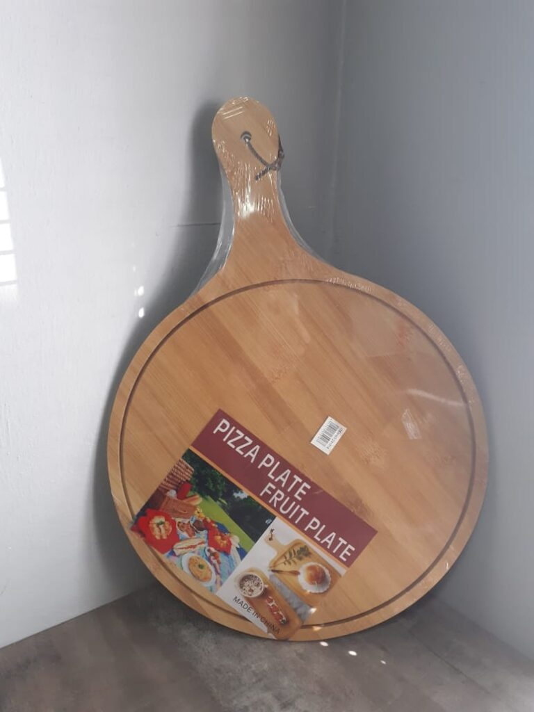 Pizza serving boards with handle (30cm)